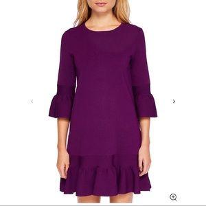 Ted Baker Tynia Peplum Sleeve Dress